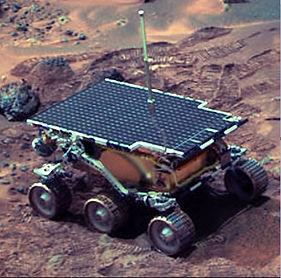Sojourner, Mars robot, 1986