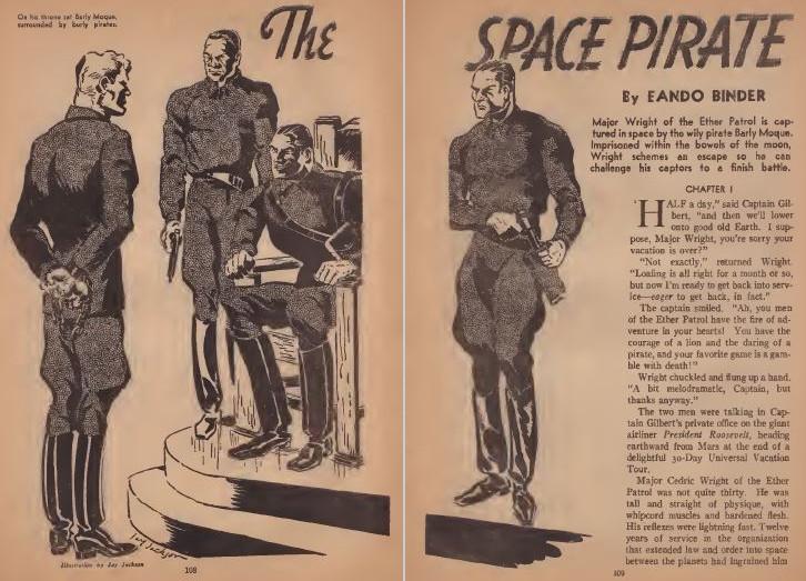 Amazing Stories August 1938