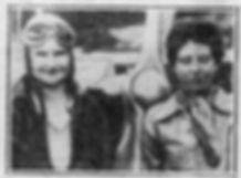 Grace Prescott and Cecile Hamilton, 1935