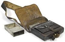 U.S. Amrny cartridge box, c1855