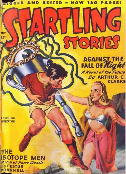 Startling Stories, November 1948 cover b