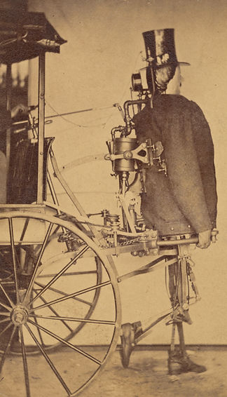 Steam man, 1868, Zadoc Dederick and Isaa