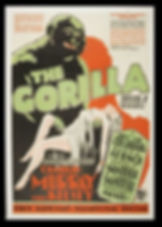 The Gorilla (1927) variant poster 1