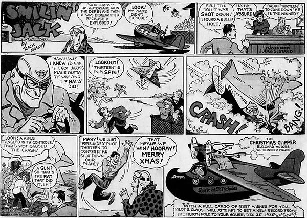 Smilin' Jack, December 22, 1935