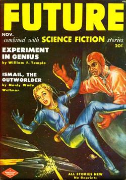 November 1951 - Peter Poulton art
