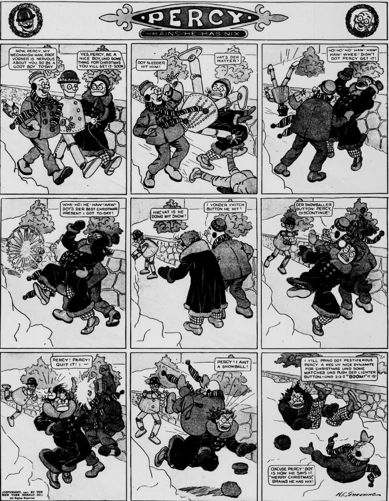 19111217 [Washington, DC] Evening Star, December 17, 1911 Percy mechanical man