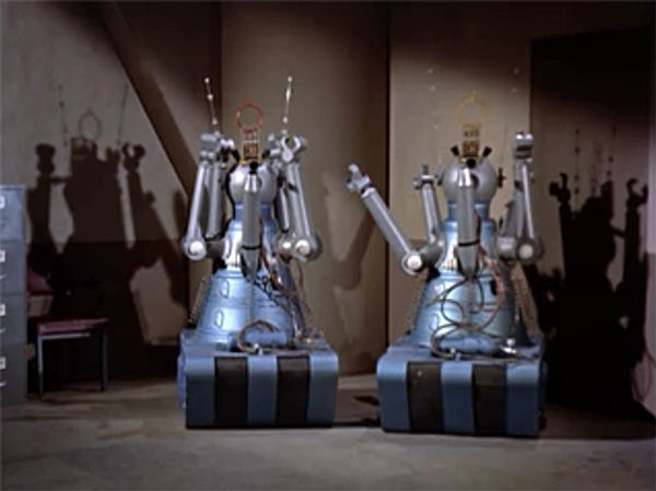 Gog and Magog robots 1954