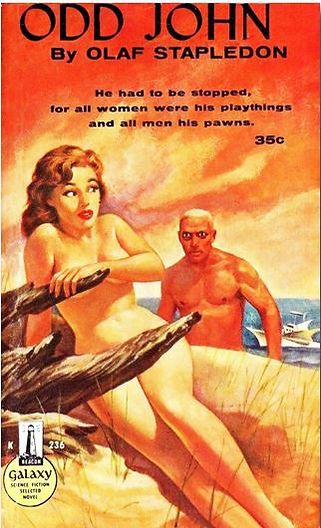 Olaf Stapledon, Odd John, Galaxy Novel #36, Beacon 236