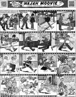 19150815 Boston Sunday Globe, Aug. 15 1915 6 Majah Moovie Percy