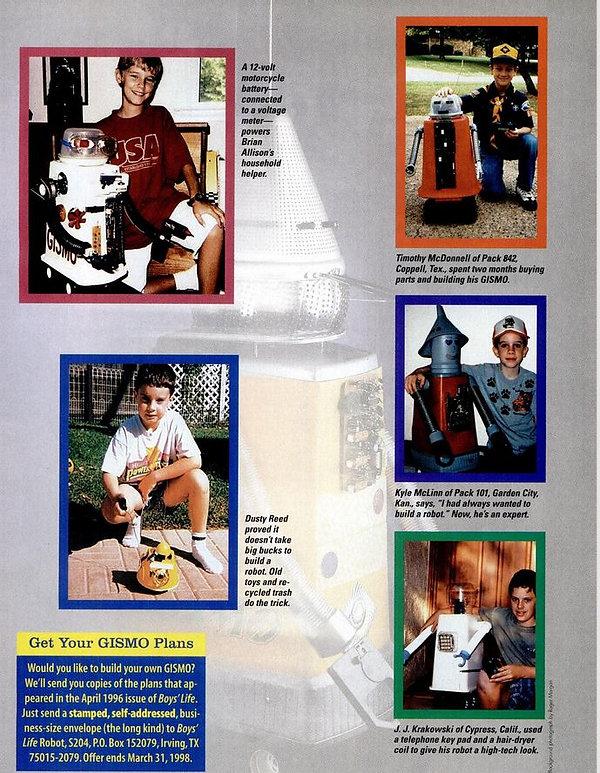 1997-11 Boys Life 29 scouts build gismo.