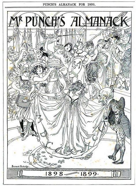 Mr. Punch's Almanack for 1899