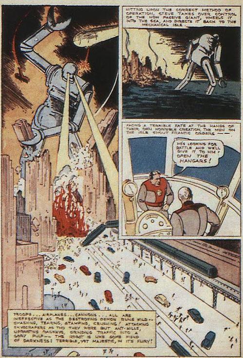 New Comics #10, November 1936