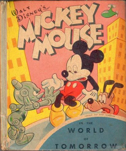 Mick Mouse in the World of Tomorrow Big Little Book, 1948