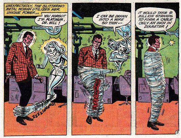 Showcase #37, March-April 1962, p9 panel