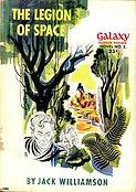 Jack Williamson, The Legion of Space, Galaxy Novel #2, cover by Paul Callé