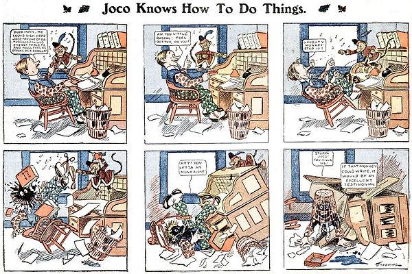 H. C. Greening, Joco and Jack comic strip
