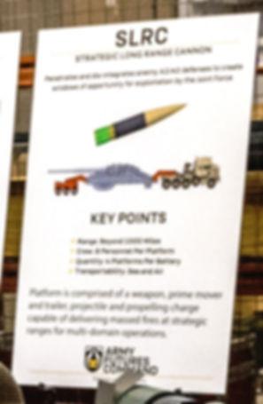 Strategic Long Range Cannon