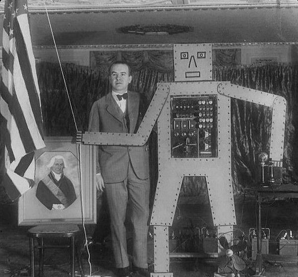 Televox and R. J. Wensley 1928