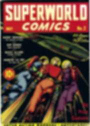 Superworld Comics #2, May 1940