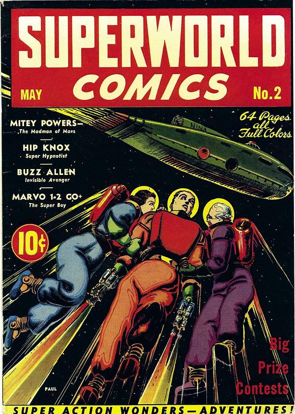 Superworld Comics #2, May 1940