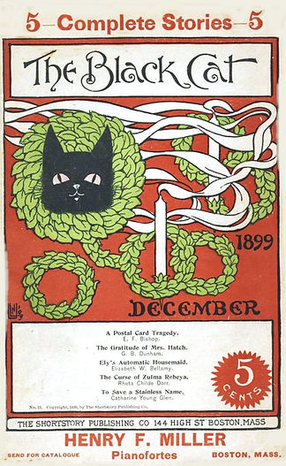 The Black Cat magazine, December 1899