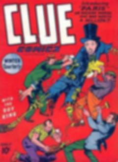 Clue Comics #9, November 1943