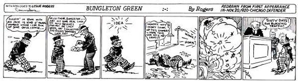 Bungleton Green first appearance, November 20,1920