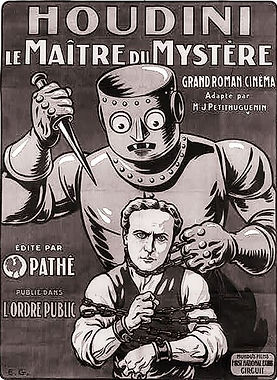 French poster for The Master Mystery
