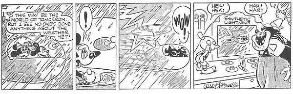 Mickey Mouse World of Tomorrow strip 9-02-44