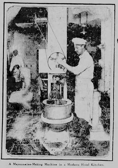 Mayonnaise making machine
