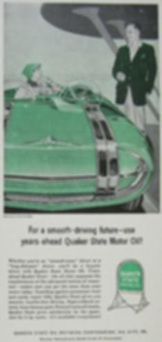 1956 Quaker State Motor Oil  Pontiac Club de Mer