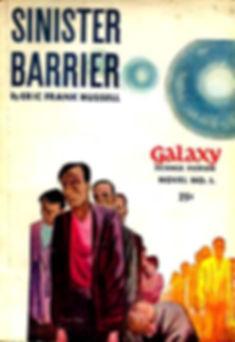 Eric Frank Russell, Sinister Barrier, Galaxy Novel #1