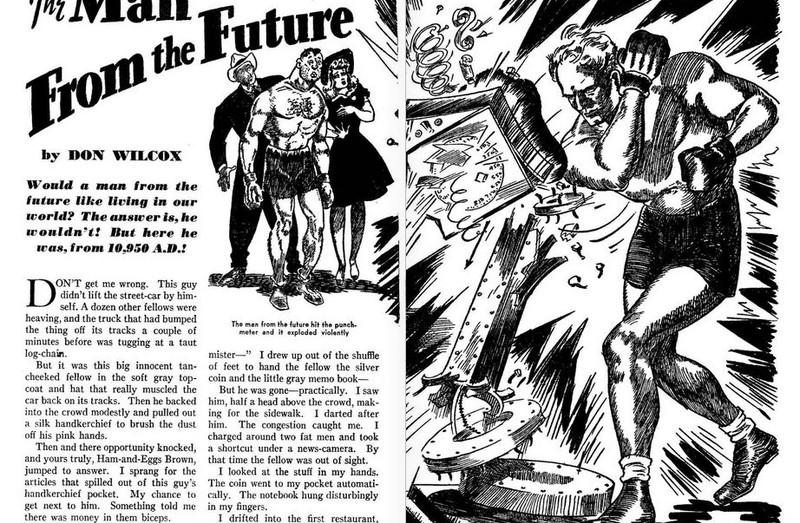 Fantastic Adventures, November 1941
