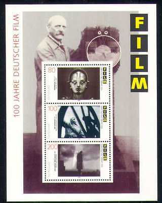 German 80 DM stamp with Maria from the film Metropolis 1995