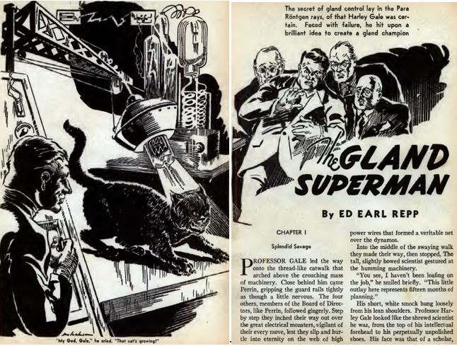 Amazing Stories, October 1938