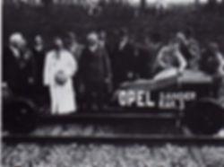 Opel Sanders RAK 3, June 23, 1928