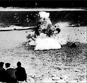 """Launch"" near Scapa in Scotland 1934"