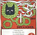 The Black Cat magazine December 1899 cov