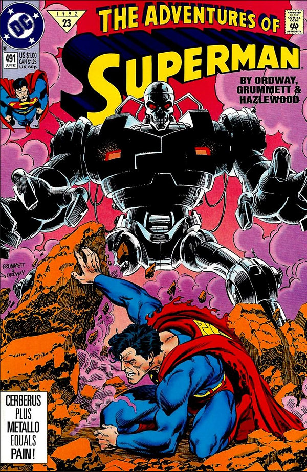 Adventures of Superman #491