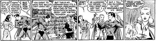 Superman daily strip, June 26, 1941