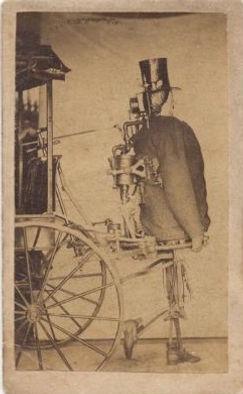 Dederick & Isaac steam man patent image, 1868