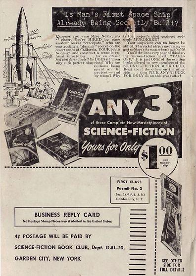 SFBC ad Galaxy October 1953