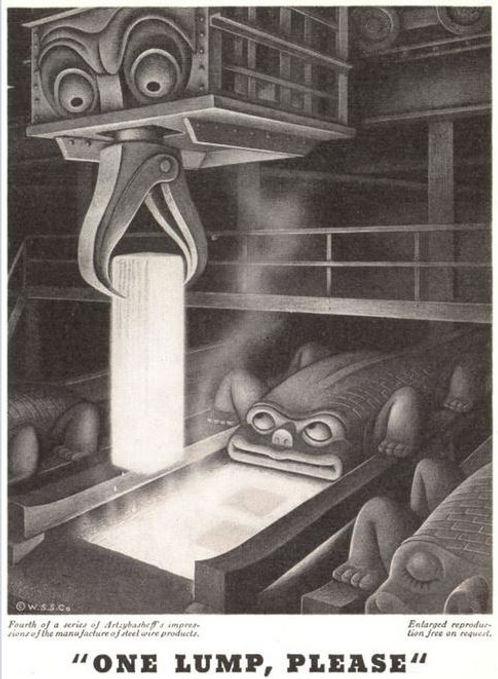 Wickwire Spencer Steel #4, Artzybasheff,