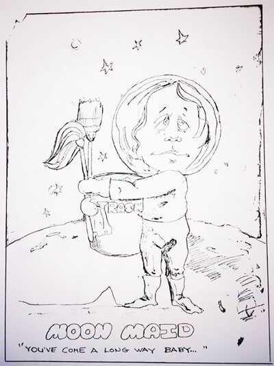 1973 NASA protest cartoon 3