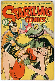 Startling Comics #44, March 1947, cover by Graham Ingels