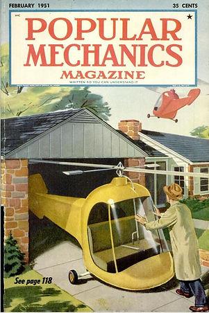 Popular Mechanics, February 1951