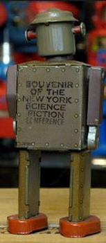 Atomic Robot Man, New York Science Fiction Conference souvenir 1950