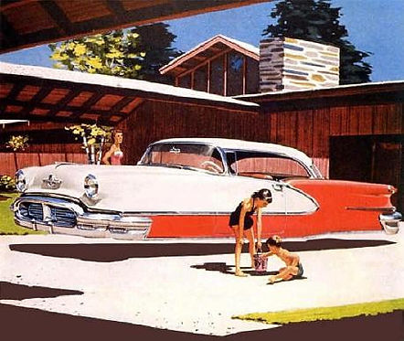 Syd Mead conceptual drawing, undated