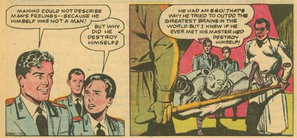 Captain Video #3 June 1951 The Indestructible Antagonist p. 19, panel