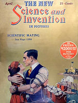 Science asnd Invention, April 1924